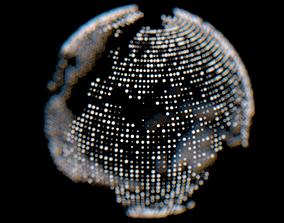 3D Dots Earth
