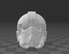 Star Wars Tie Fighter Pilot Helmet 3D print model