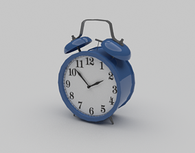 Alarm clock 3D asset realtime