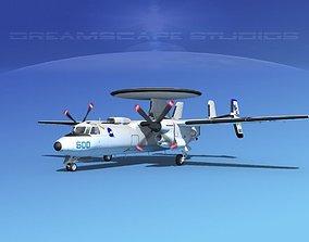 3D Grumman E-2C Hawkeye V16