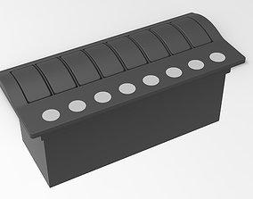 Marine Switch Panel 8 3D model