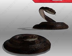 Snake Animated 3D model