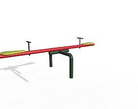 3D model Park Seesaw