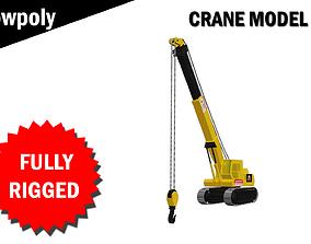 Crane Model Fully RIgged rigged