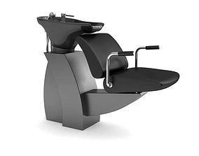 Hair Salon Chair 3D model