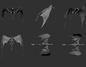 3D model Low Poly Appearance Dragon - Simple Uses Only