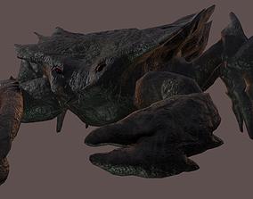 Crab monster PBR 3D asset