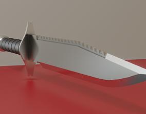Basic Combat Knife 3D model