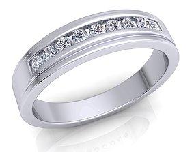 diamond jewellery engagement Diamond Ring 3D print model