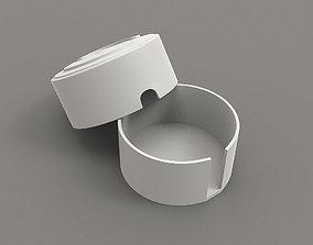 Anti-Dust Earphone Cover Box 3D print model