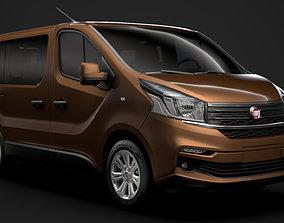 3D model Fiat Talento Minibus 2020