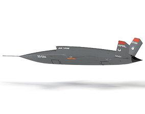 XQ-58 Valkyrie 3D