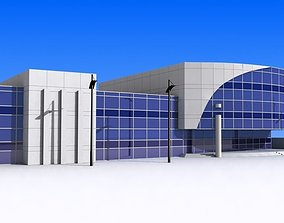 Office Building 3D asset game-ready