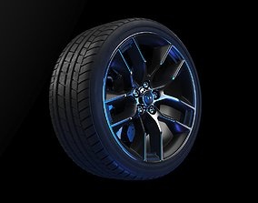 3D model Michelin Pilot Sport wheel