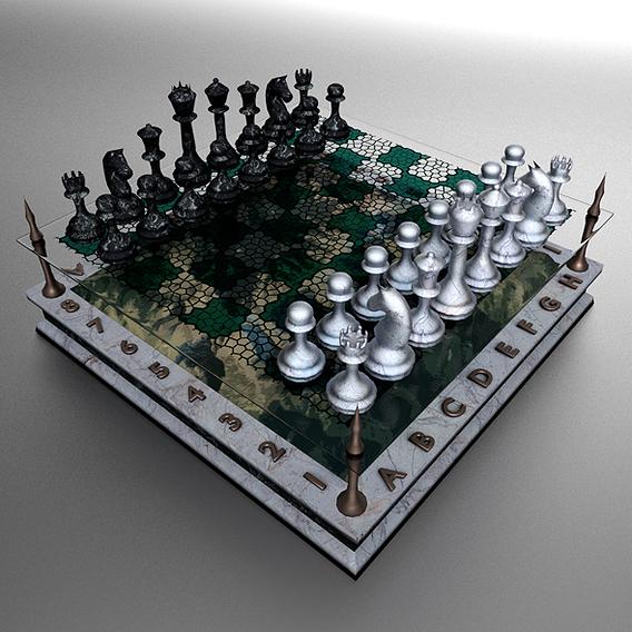 Landscape Chessboard
