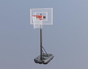 basket ball hoop 3D asset