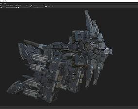 scifi-model-x285 3D