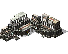 3D model Future World - Residential Area 02