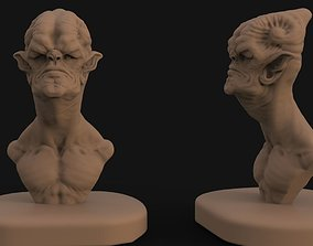 3D printable model Alien concept