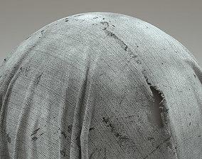 Torn Fabric 4k 3D model