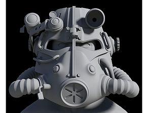 3D printable model T-45 Helmet