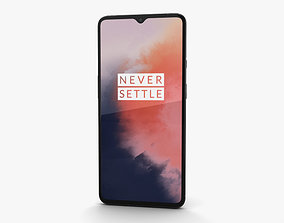 touchscreen OnePlus 7T Frosted Silver 3D
