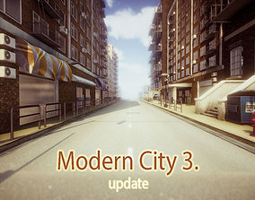 3D asset Modern City 3 Update