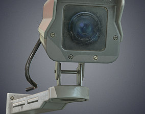 Security cameras 3D model realtime