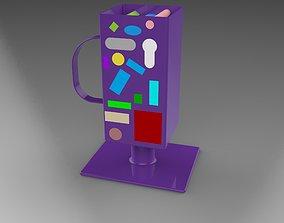 Building game 3D printable model