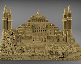 3D printable model Hagia Sophia printable