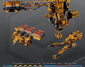 3D model game-ready SF Mining Company