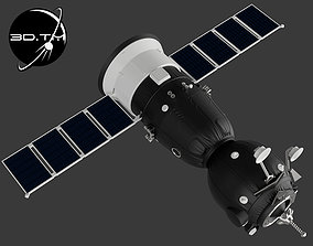 Soyuz MS Spacecraft 3D print model