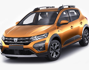 Dacia Sandero Stepway 2021 3D model