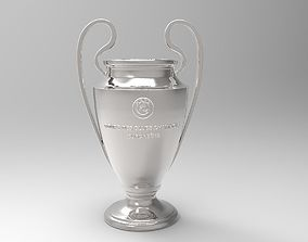 UEFA Champions League Trophy 3D printable