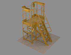 The technological platform mk 2 3D model
