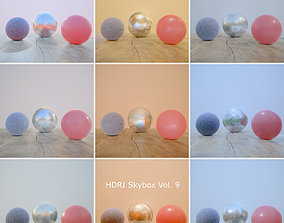 3D asset HDRi Vol 9 Skybox Collection