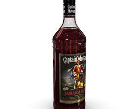 Captain Morgan Jamaica Rum 1L Bottle 3D