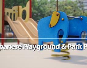 Japanese Playground Pack 3D model