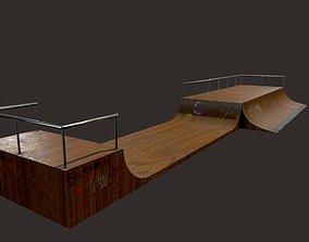 Skate ramp5 3D asset