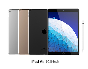 iPad Air 10 5-inch Collection 3D new