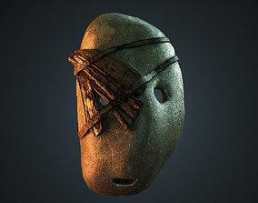 Stone mask 3D asset
