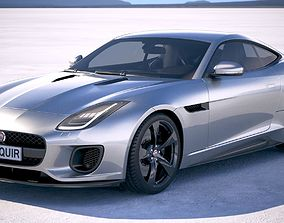 3D Jaguar F-Type 400 sport Coupe 2018