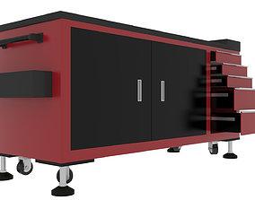 3D model Workshop Trolley 1