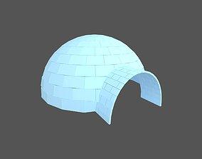 3D model Igloo v1 002