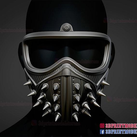 Watch Dogs Halloween Cosplay Mask
