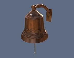 Bell PBR 3D asset