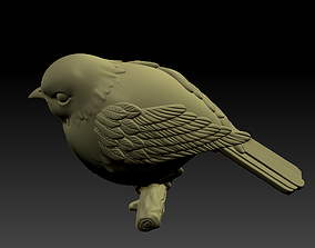 3D printable model little bird