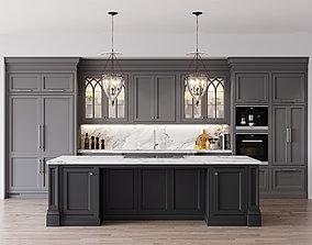 Classic kitchen 1 3D