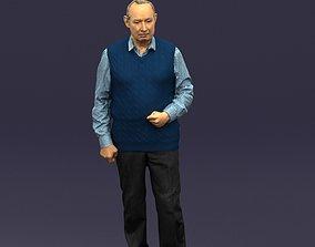 3D model Old man 0423