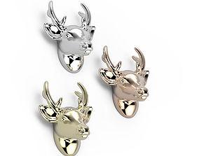 Deer detail 3D print model